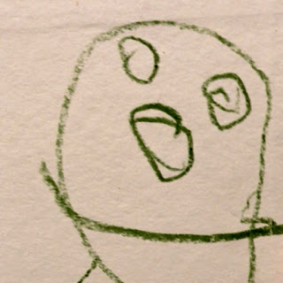 Toddler Drawing of a Face