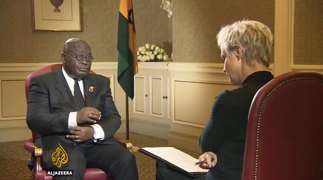 President Nana Addo Dankwa Akufo-Addo on AL JAZEERA