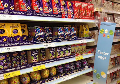 As with many other holy festivals, Easter is also commercialised.
