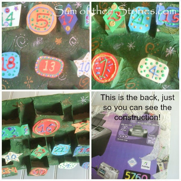 home made advent calender ideas