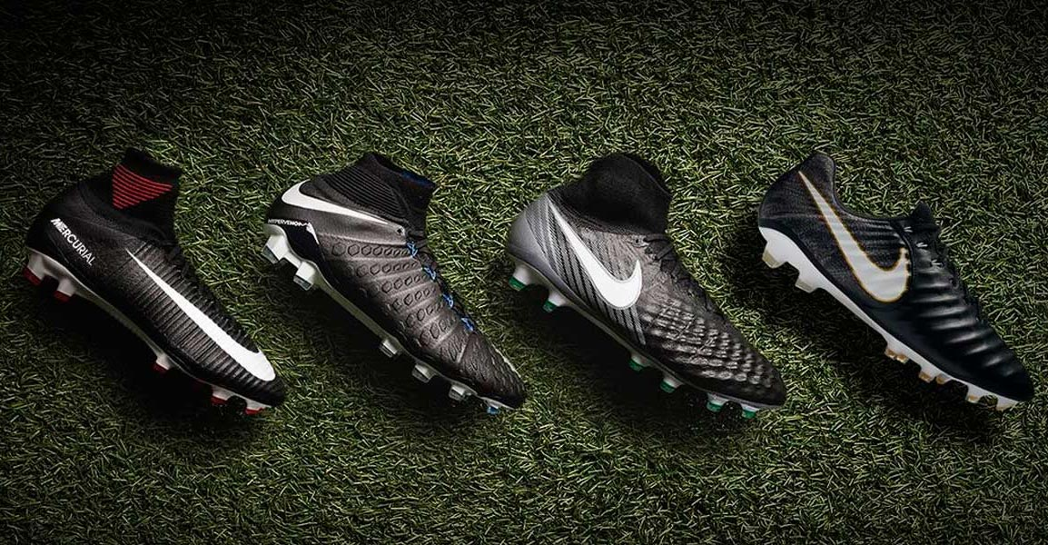 the best attitude 532e1 f5c0b Last years black Nike boot collection