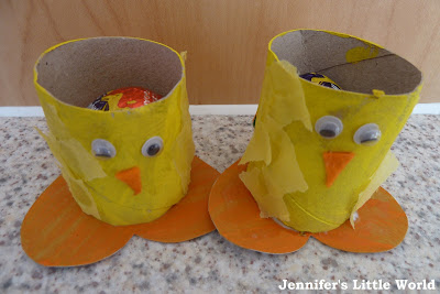 Easter chick egg holders