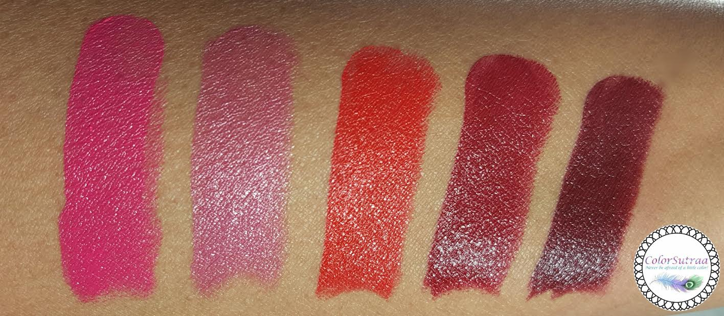 Get Ready For Spring With Rimmel The Only 1 Lipsticks Colorsutraa Trio From Left To Right 110 Pink A Punch 200 Its Keeper 620 Call Me Crazy 810 One Of Kind And 820 Oh So Wicked