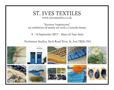 St Ives September Festival 2017 - Textiles Exhibition