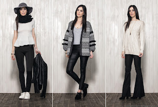 Núcleo Moda otoño invierno 2016 ropa de mujer.