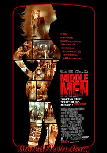 Poster Of Middle Men (2009) Full Movie Hindi Dubbed Free Download Watch Online At worldfree4u.com