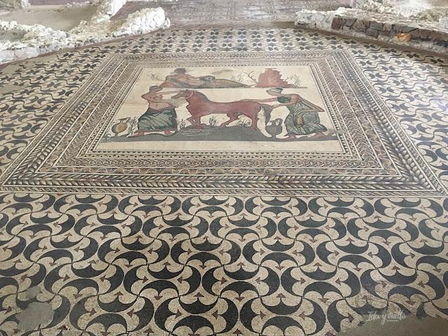 Mosaico de Pegaso