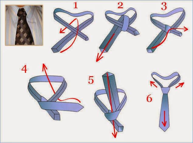 Kaklaraiščio rišimas Nr.6