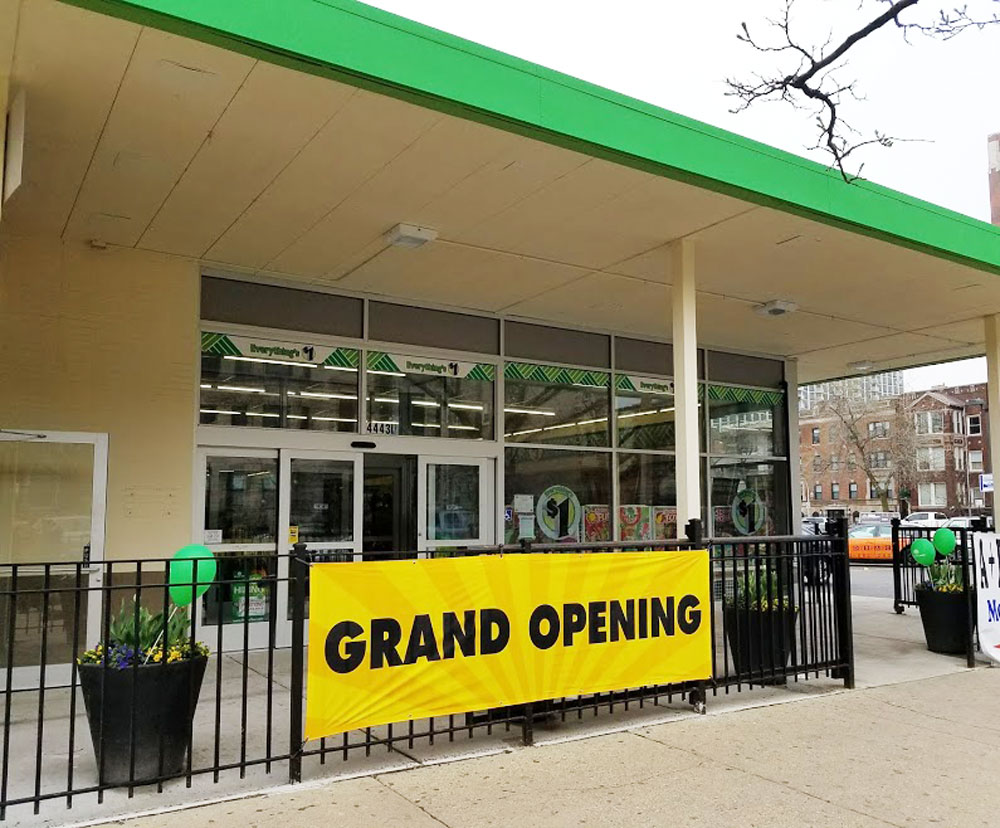Uptown Update Dollar Tree Opens At 4443 North Sheridan