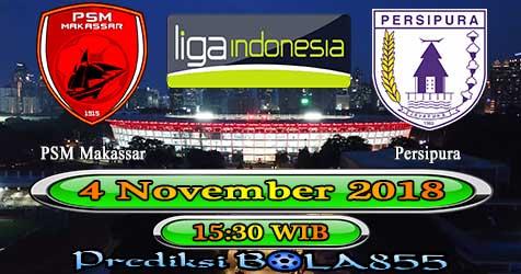 Prediksi Bola855 PSM Makassar vs Persipura Jayapura 4 November 2018