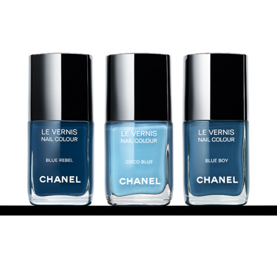 Les Jeans de Chanel Nail Polishes