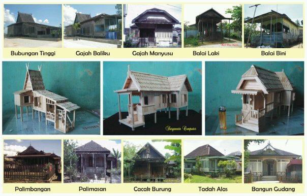 Cpns Pulang Pisau Selamat Datang Di Situs Kabupaten Pulang Pisau Model Miniatur Bangunan Rumah Adat Banjar