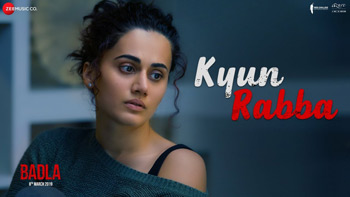 Kyun Rabba Lyrics - Badla | Amitabh Bachchan