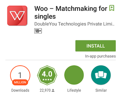 woo dating apps store download
