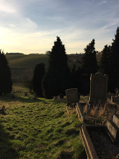 Claverley churchyard cemetery  (Copyright 2018 Duncan Honeybourne  - used with permission)