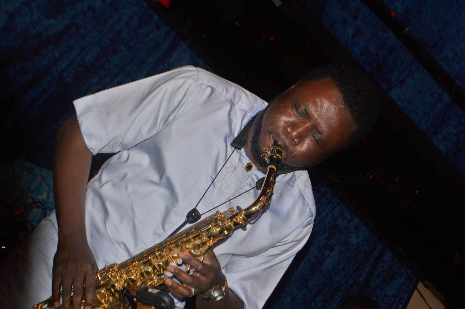 Mike Aremu Nigerian Saxophonist