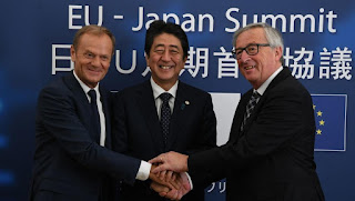 European Union and Japan sign historic trade deal