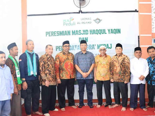 Zulkieflimansyah Resmikan Masjid Haqqul Yaqin di Lengkukun dan Pandanan