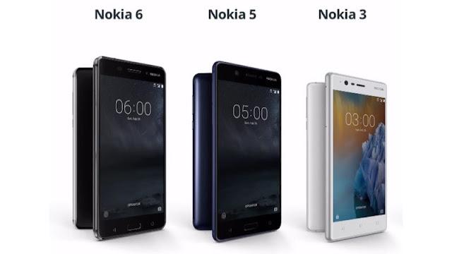 فعاليات مؤتمر MWC 2017 | نوكيا تعود وتعلن عن هوافتفها الجديدة Nokia 3 و Nokia 5 و Nokia 6