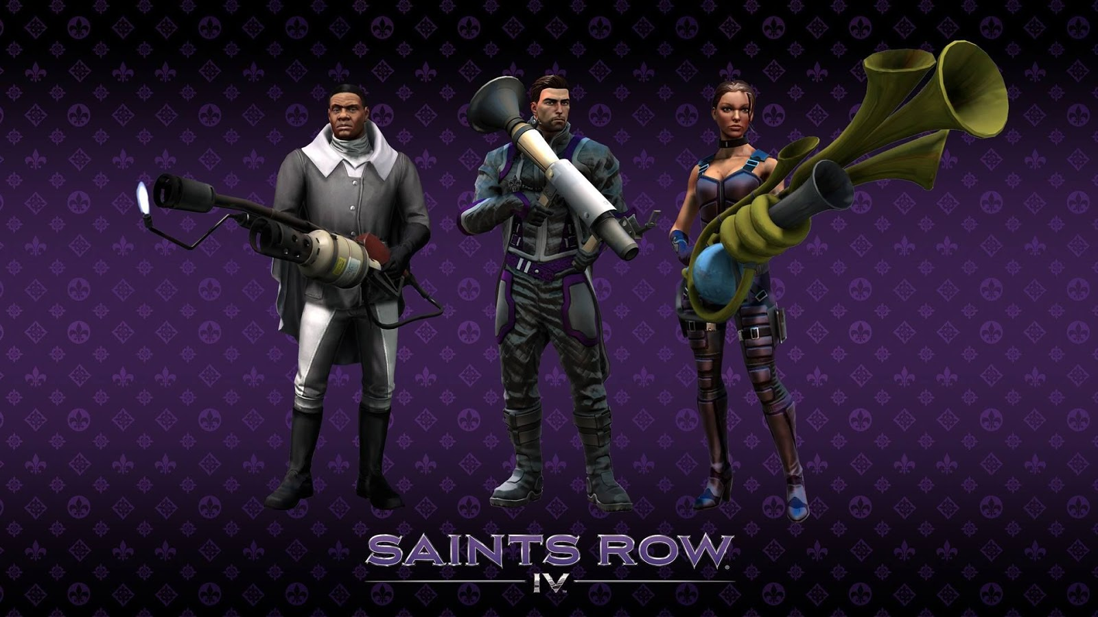Saints Row 4 Wallpapers: Saints Row 4 HD Wallpapers