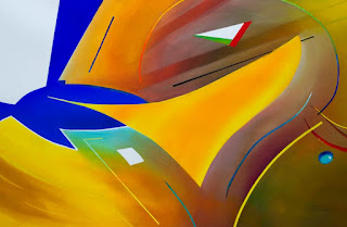 abstract aviation paintings