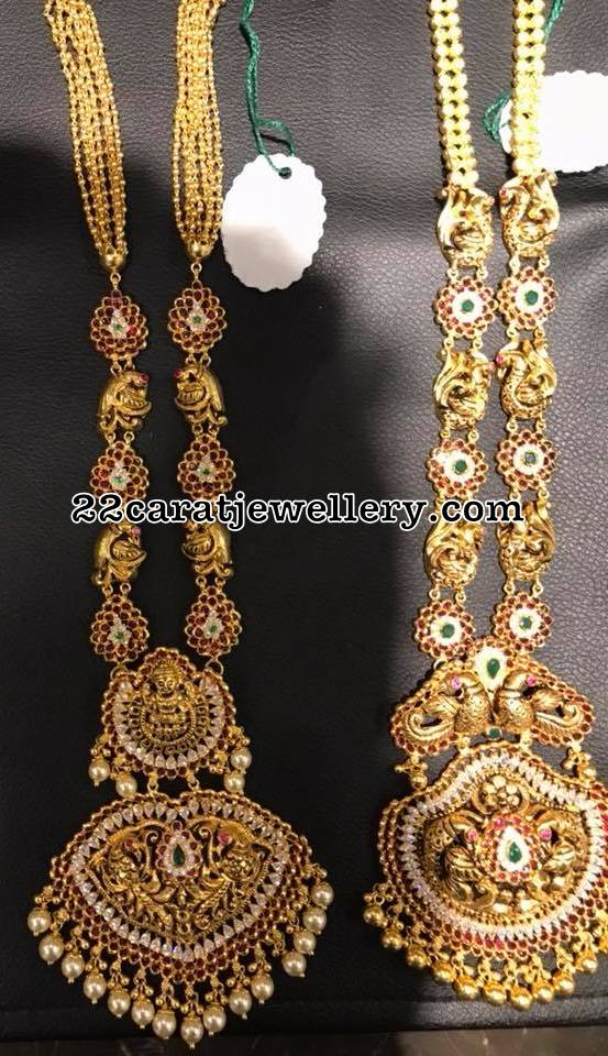Antique Long Chains with Kundan