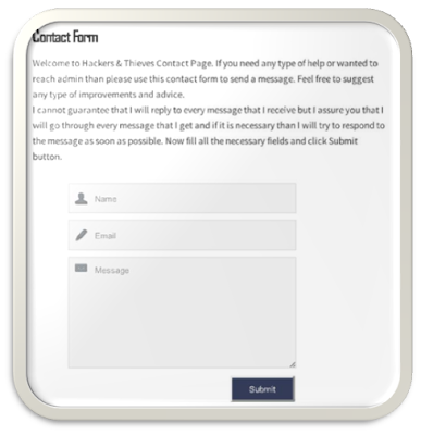 How to Add Contact Us Form to Static Page in Blogger