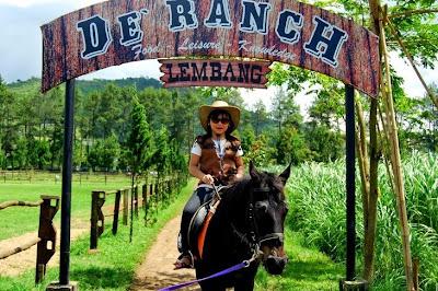tempat wisata di bandung De'Ranch Lembang