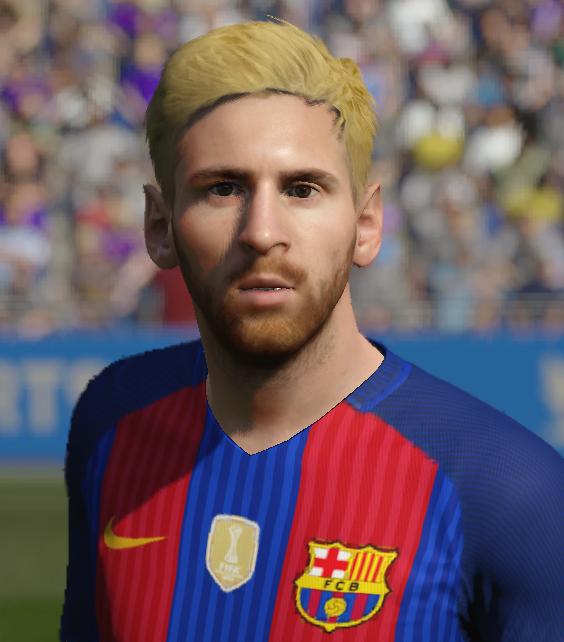 Messi Face FIFA17 To FIFA16