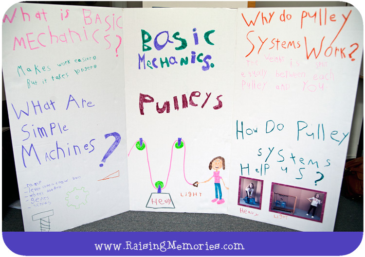 Raising Memories: Learning About Pulleys