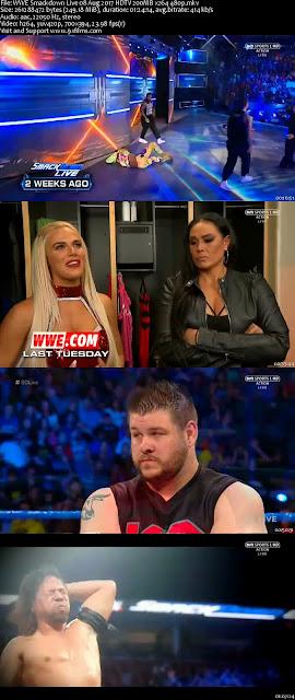 WWE Smackdown Live 08 Aug 2017 HDTV 480p