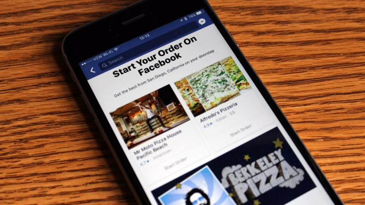 You Can Now Order Food From Facebook As They Roll Out New Feature