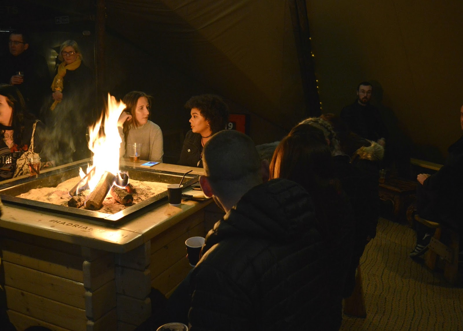 Christmas in the North East - The Ultimate Guide Hadrians Tipi