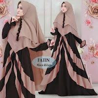 Jual Baju Busana Muslim Gamis Fatin Syari