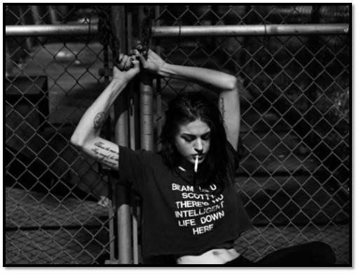 Frances Bean Cobain Tattoos - Tattoos Life Style