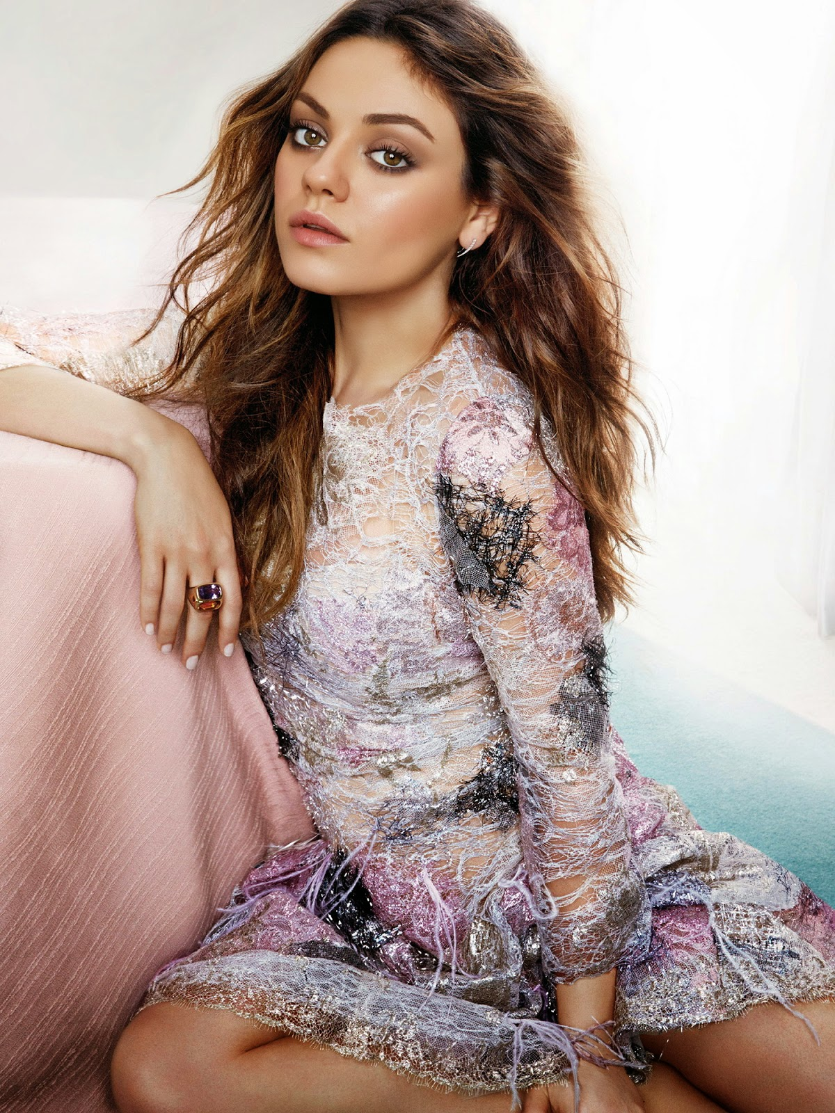 Mila Kunis Tesh PhotoShoot for Marie Claire June 2014