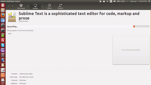 Sublime Text: Awesome text editor in Ubuntu