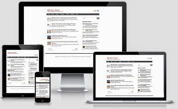 Seo Fast Simple Responsive Blogger Template