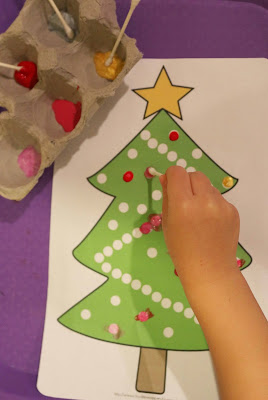 Christmas Toddler Fine Motor Skills