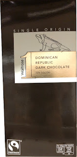 Waitrose Dominican Republic dark chocolate bar