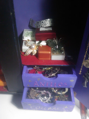 organizador de pulseras y anillos