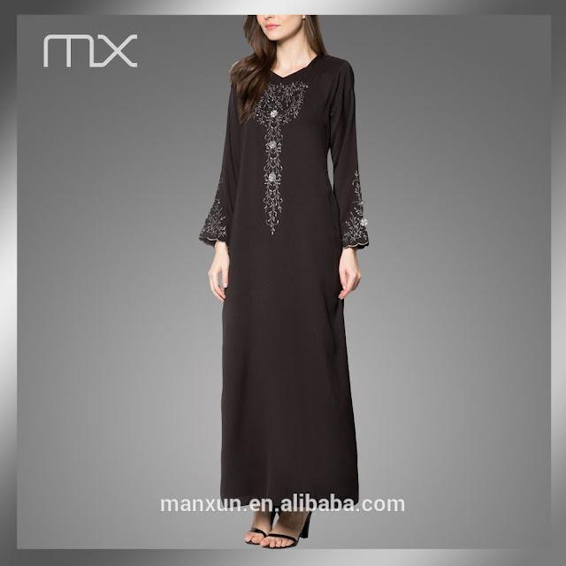 abaya modern yang simple namun tetap cantik