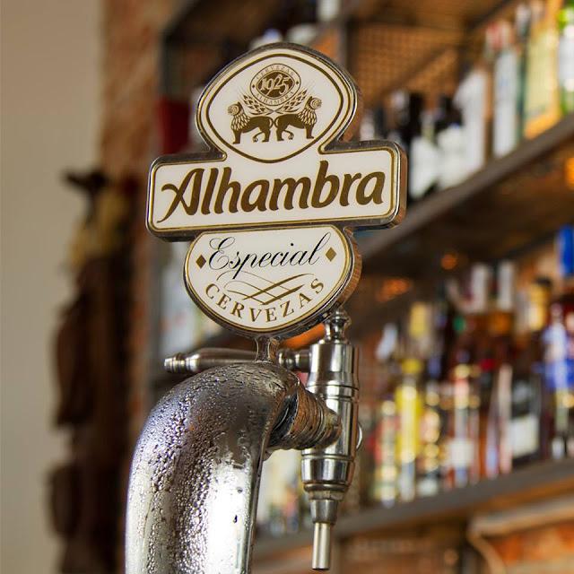 Cerveza de barril Alhambra, Bar S10 Madrid