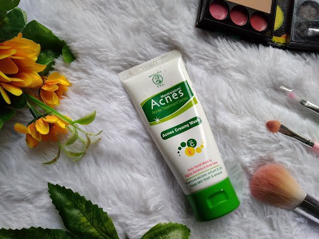 facial wash acnes