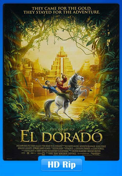 The Road To El Dorado 2000 720p BluRay x264 | 480p 300MB | 100MB HEVC Poster