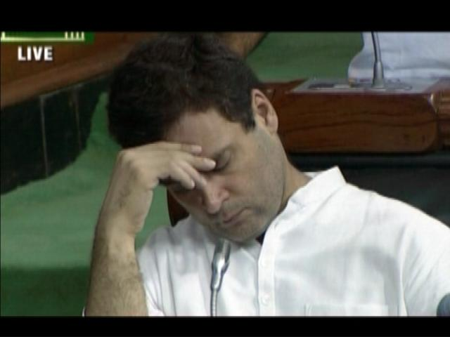 Congress vice president Rahul Gandhi chose an inopportune moment to catch up with his sleep, just when the opposition parties were putting Modi government on backfoot for the violence against Dalits in Gujarat.   After the video of cow vigilantes thrashing a group of Dalit youths in Una on the charge of illegally transporting cow skin went viral, protests have broken out all over Gujarat.