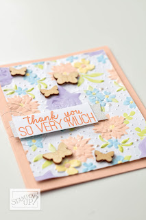 Stampin' Up! 2019 Sale-a-Bration AVAILABLE NOW ~ Country Floral Embossing Folder