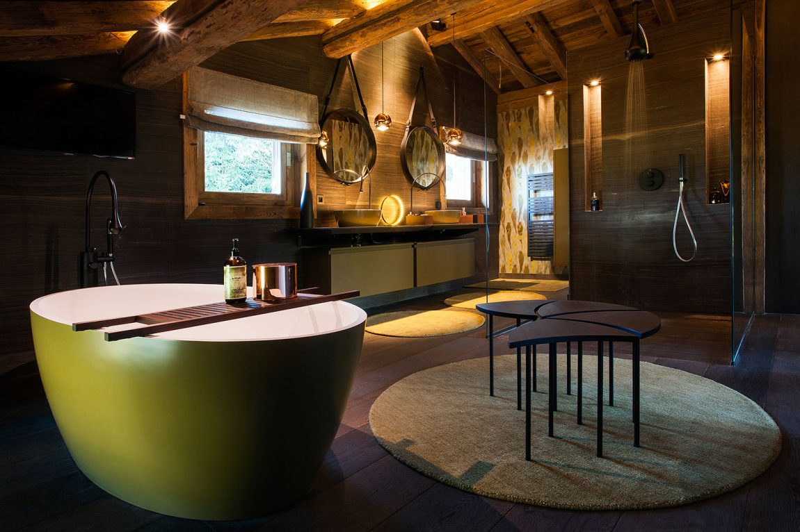 Loveisspeed refuge architecture d int rieur for Interieur chalet