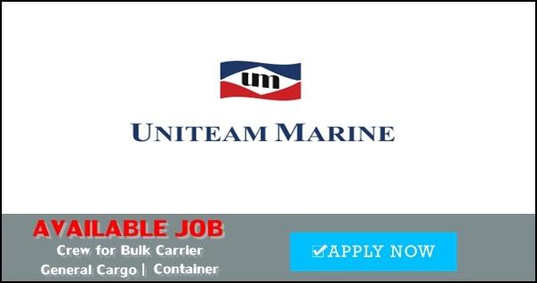 Seafarer job vacancy
