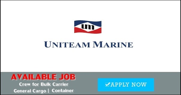 Seaman Job Vacancy For Bulk Carrier, General Cargo ...
